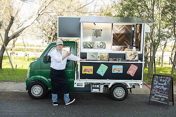 Kitchen Car Brassrie Ashiya Becchii37 ベッチー37 芦屋打出小槌 淡路産の食材を中心にしたフレンチ